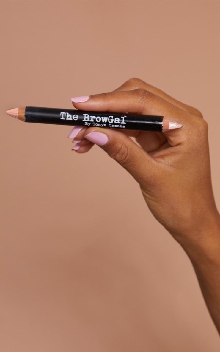 The BrowGal Highlighter Pencil 01 Champagne Cherub 7