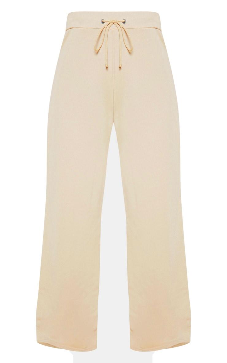 Petite Stone Wide Leg Track Pants 3