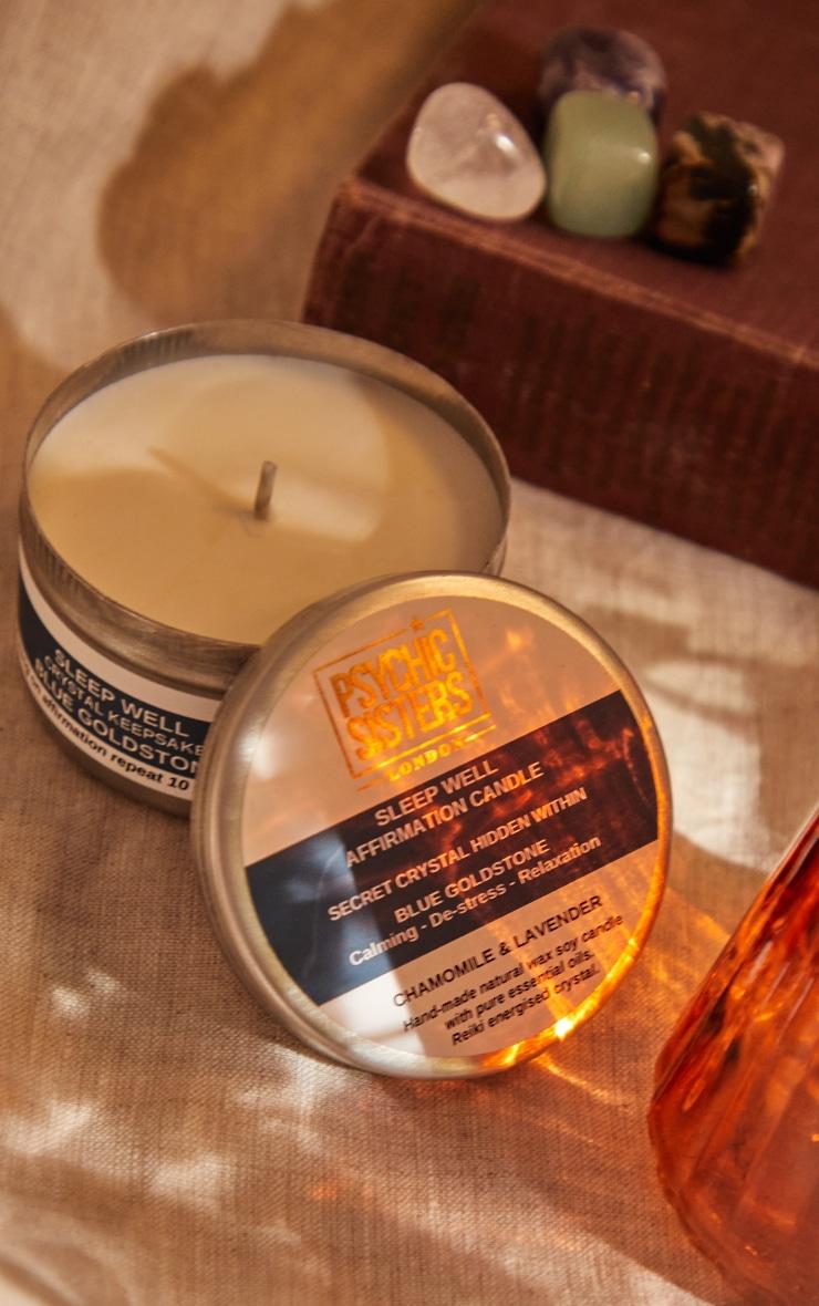 Psychic Sisters Sleepwell Tin Candle 4