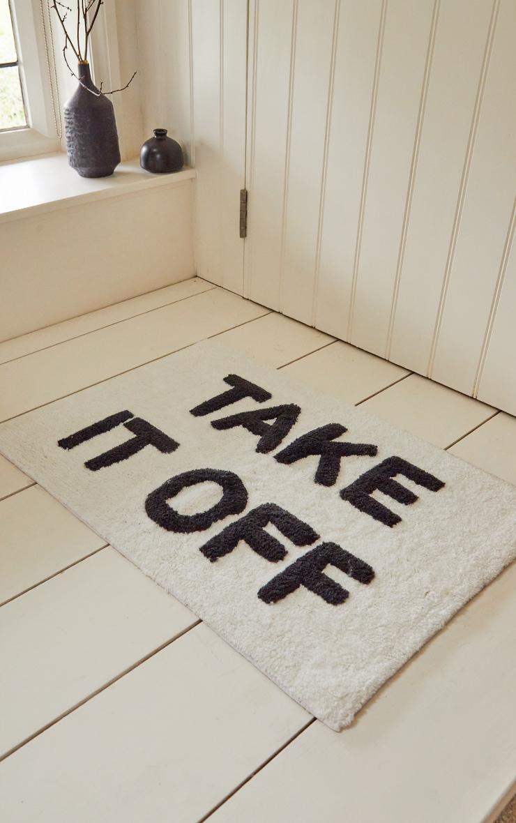Take it Off Cotton Bath mat 1