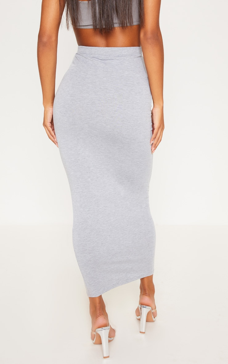 Black and Grey Jersey Midaxi Skirt 2 Pack 5