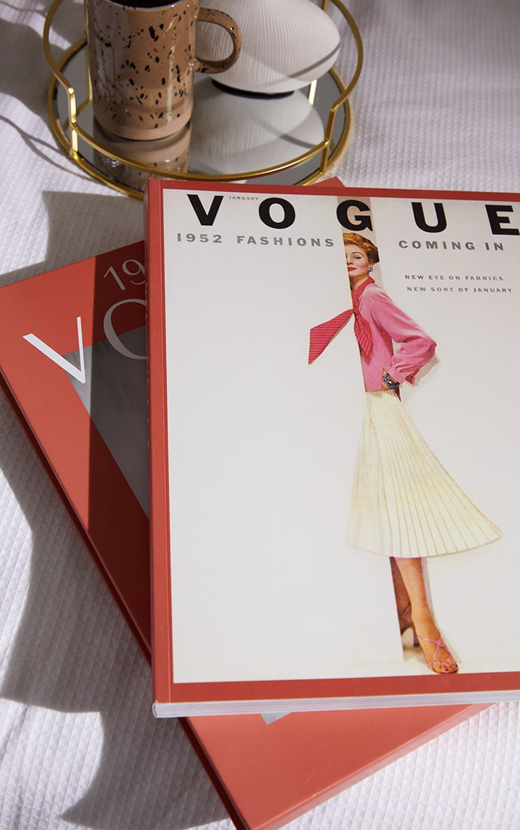 1950s In Vogue Coffee Table Book 2
