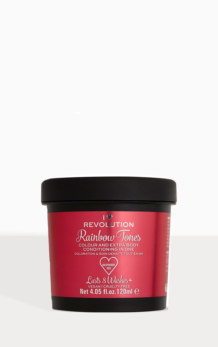 I Heart Revolution Rainbow Tones Hair Colour Raspberry 1