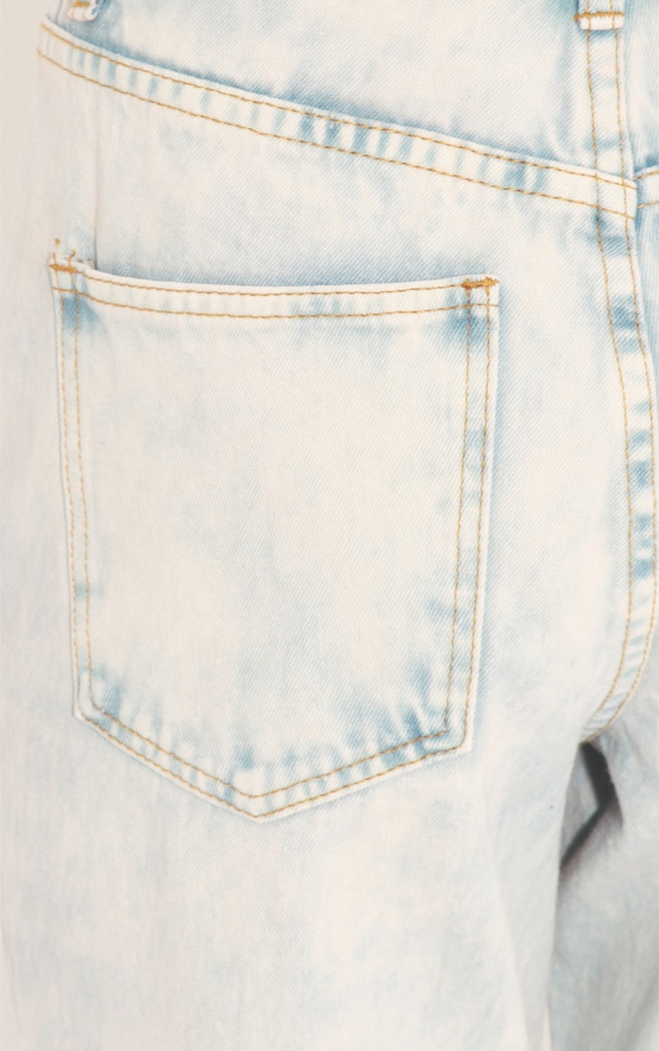 Lana Light Wash Denim Boyfriend Jeans 5