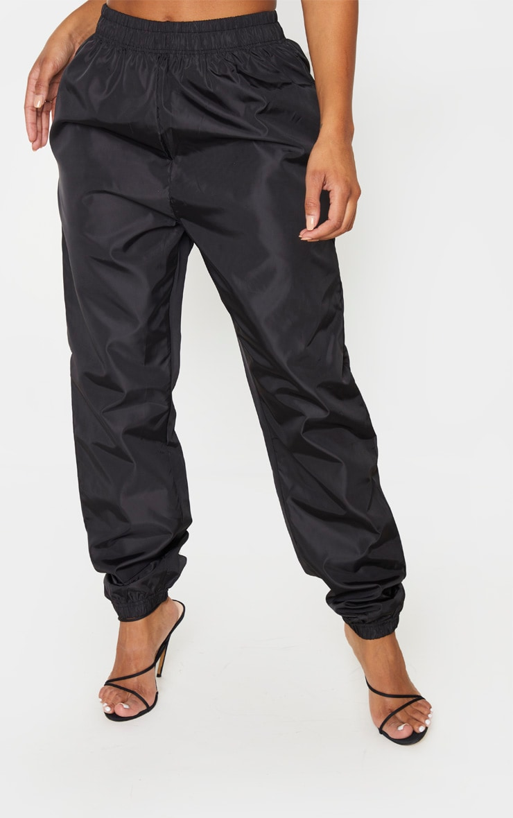 Shape Black High Waist Shell Jogger 2