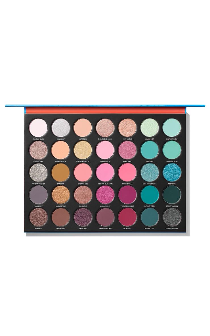 Morphe 35S Sweet Oasis Artistry Eyeshadow Palette 2