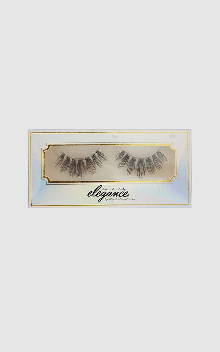 Elegance Lashes Human Hair Fake Eyelashes 2 1