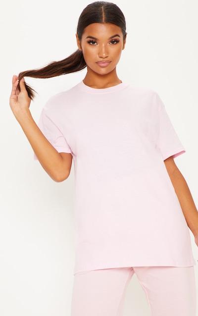 d3ea19df4ad3 Ultimate Light Pink Oversized T Shirt