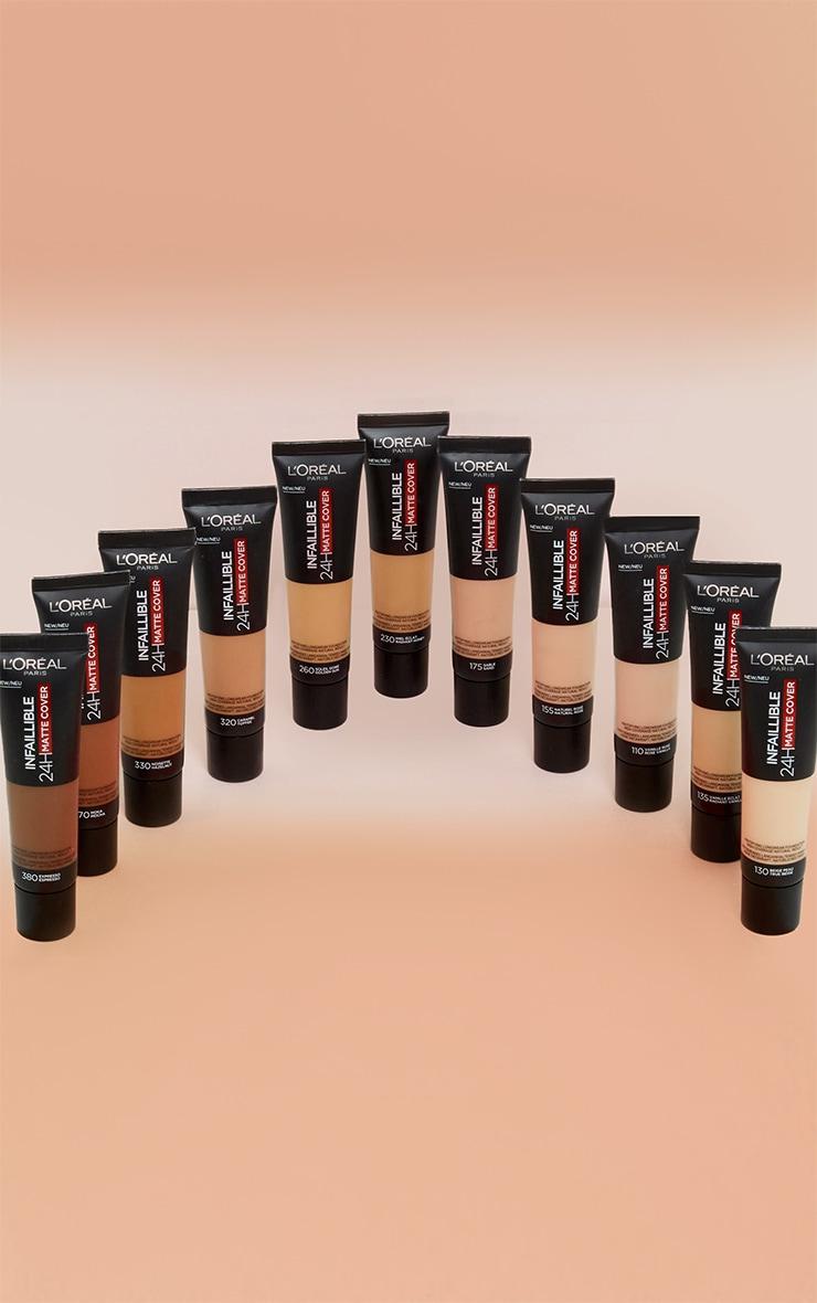 L'Oreal Paris Infallible 24hr Matte Cover Foundation 380 Espresso 2