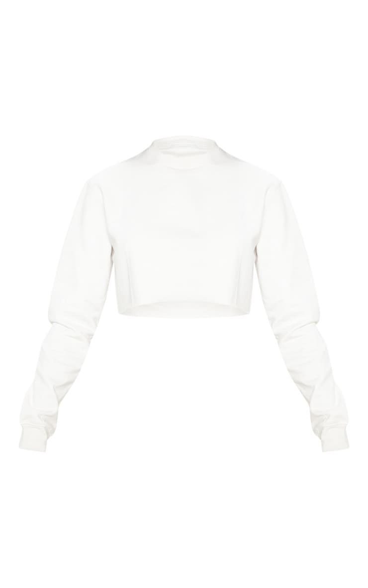 Ecru Ultimate Cropped Sweater 3