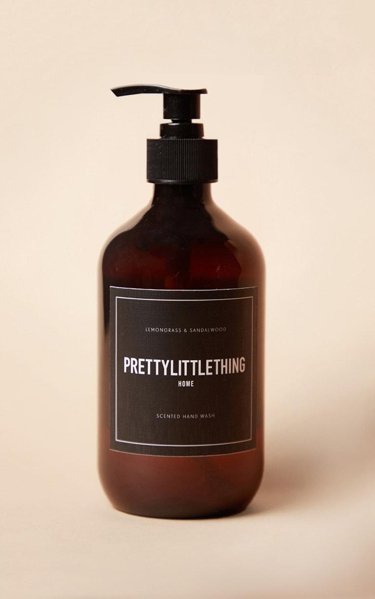 PRETTYLITTLETHING Home - Savon pour les mains parfum citronnelle et bois de santal 1