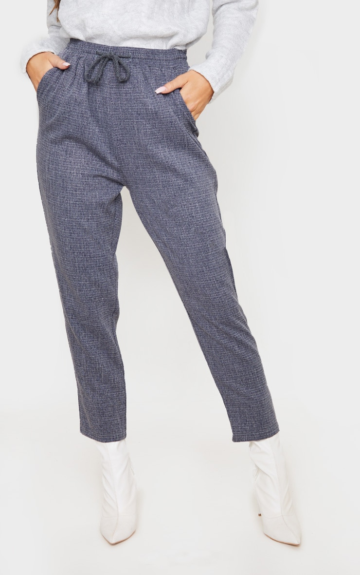 Navy Diya Casual Pants 2