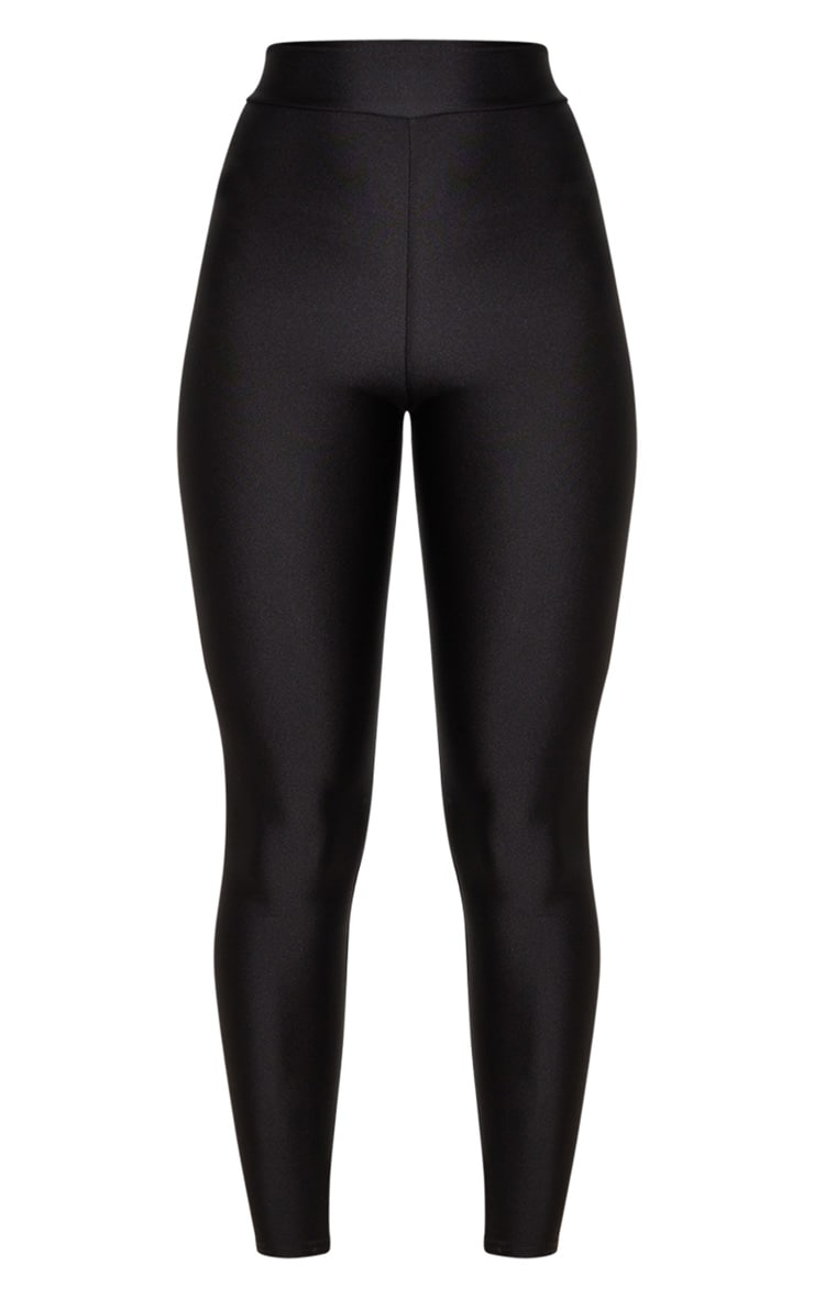 Black Disco High Waisted Leggings 5