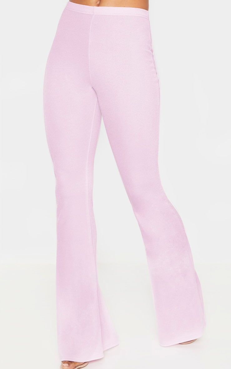 Tall Lilac Flare Trouser 6