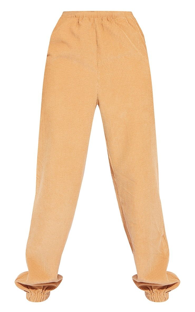 Tall Stone Oversized Cord Detail Joggers 5
