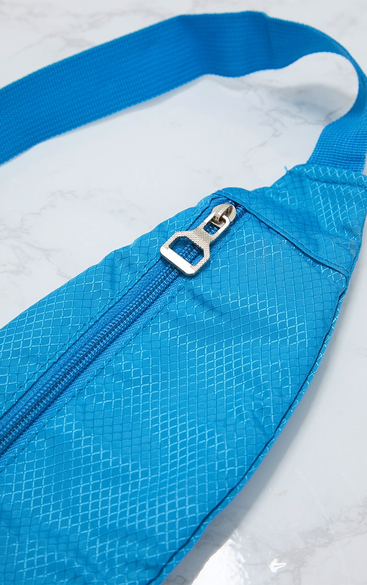 Turquoise Basic Bum Bag 4
