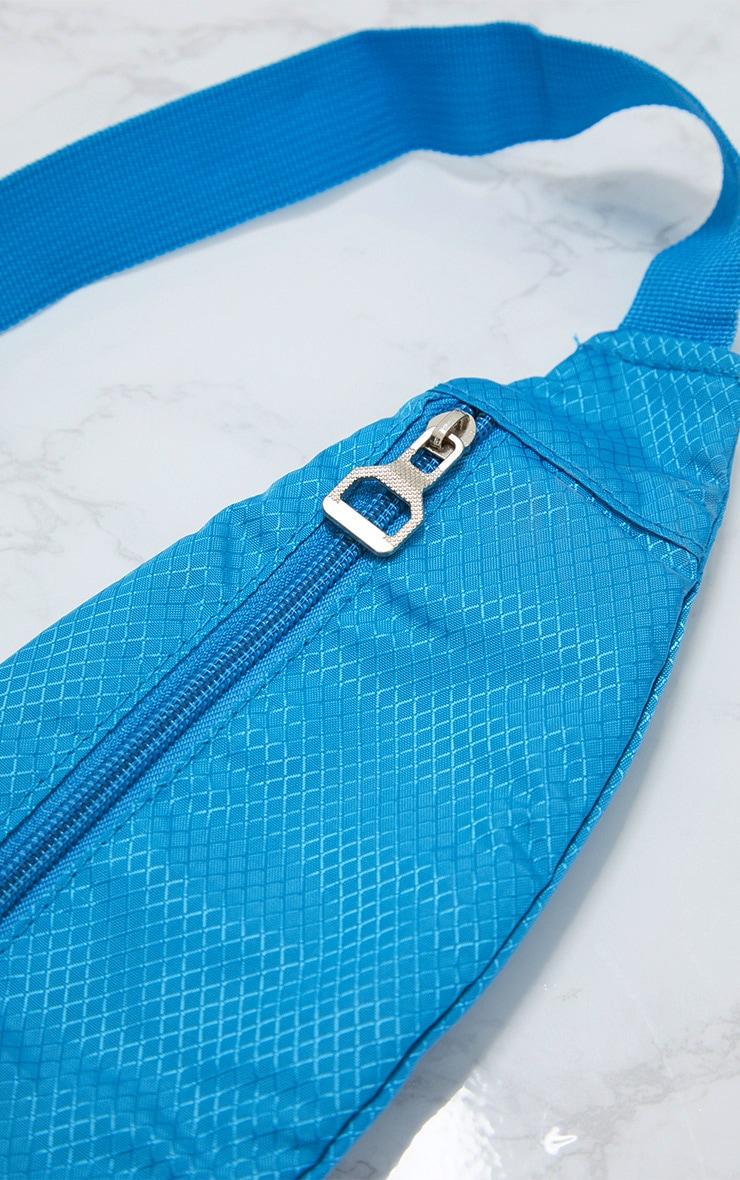 Turquoise Basic Bum Bag 4