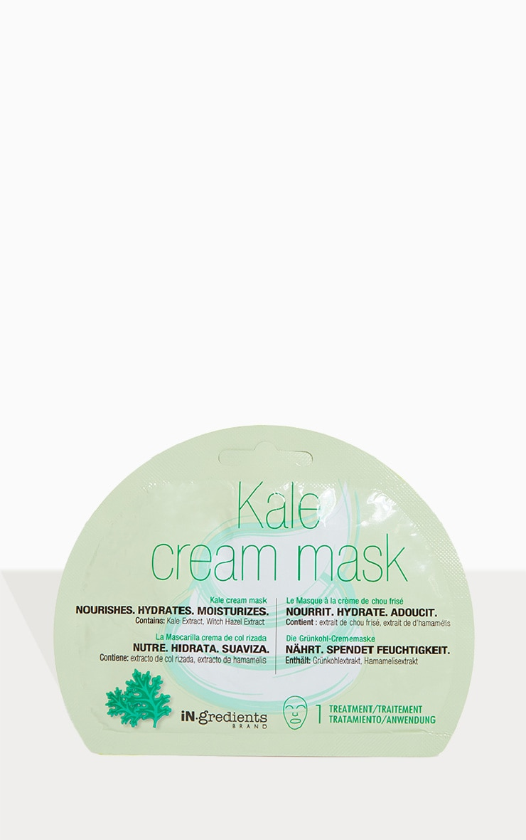 iN.gredients Kale Cream Mask