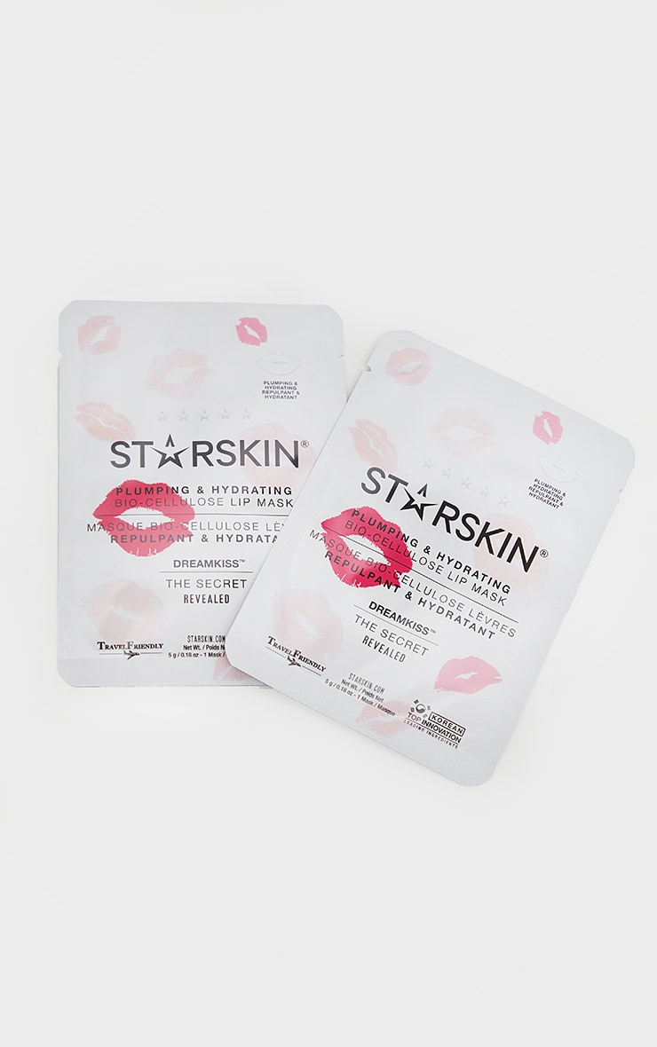 Starskin Dreamkiss Plumping And Hydrating Bio Cellulose Lip Mask (2pc) 3