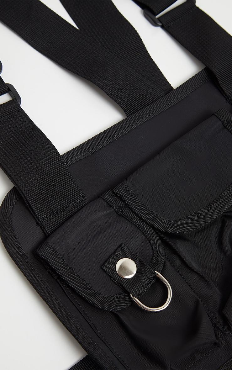 Black Nylon Vest Bag 4