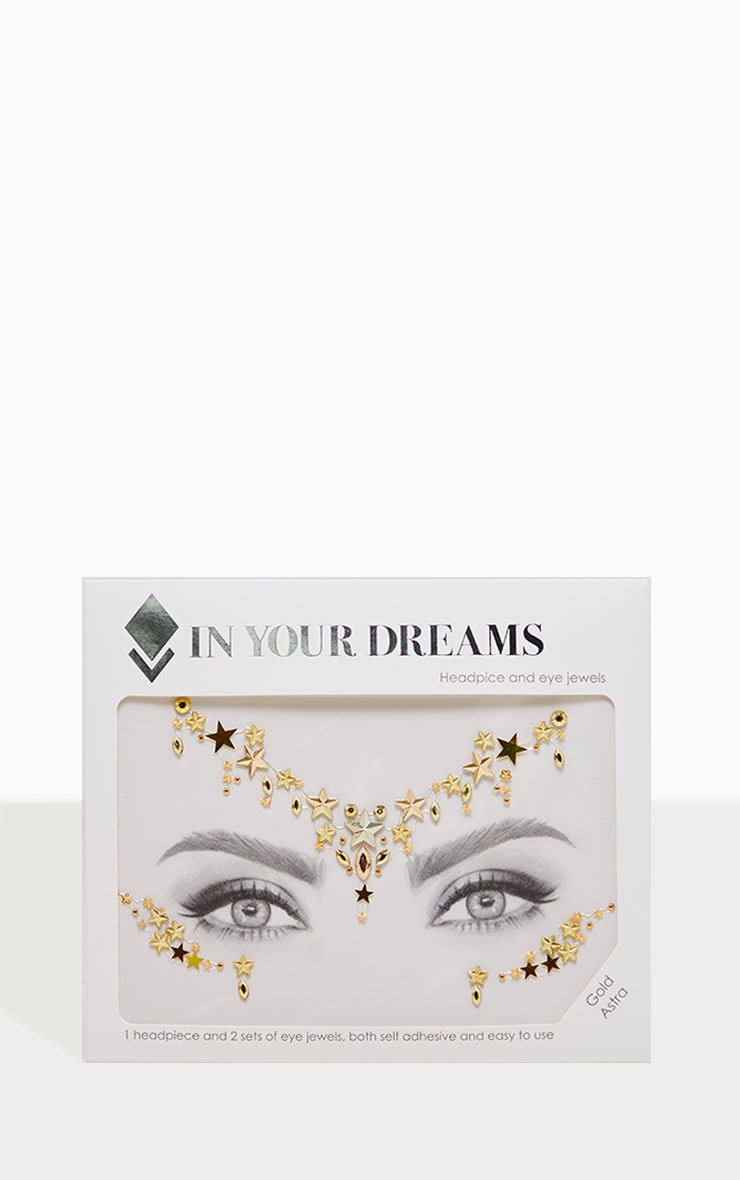 In Your Dreams Gold Astra Face Jewel 2