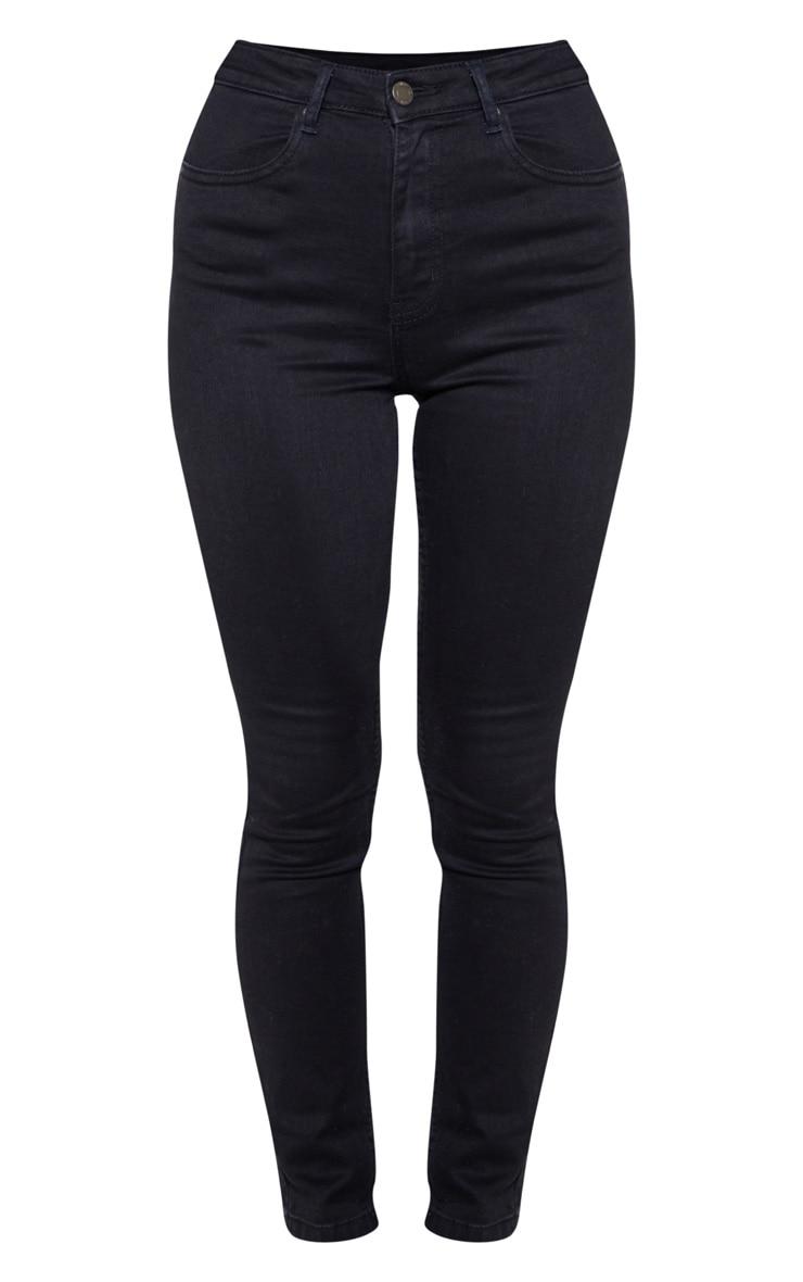 Jean skinny noir à 5 poches 3