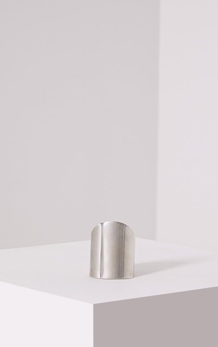 Jolia Silver Curved Cuff 2