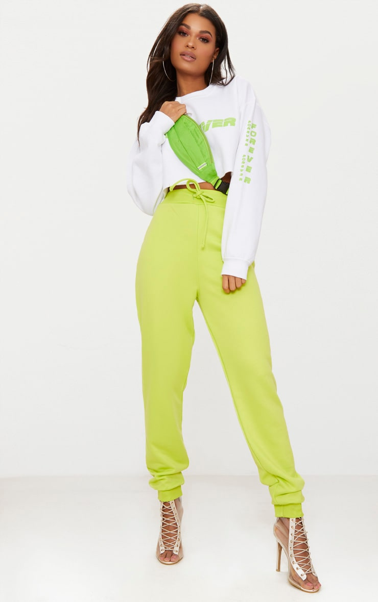 Lime Ultimate Sweat Joggers 1