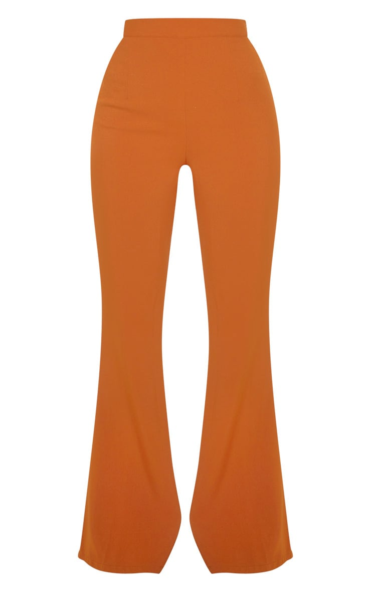 Chestnut Flare Tailored Pants 3