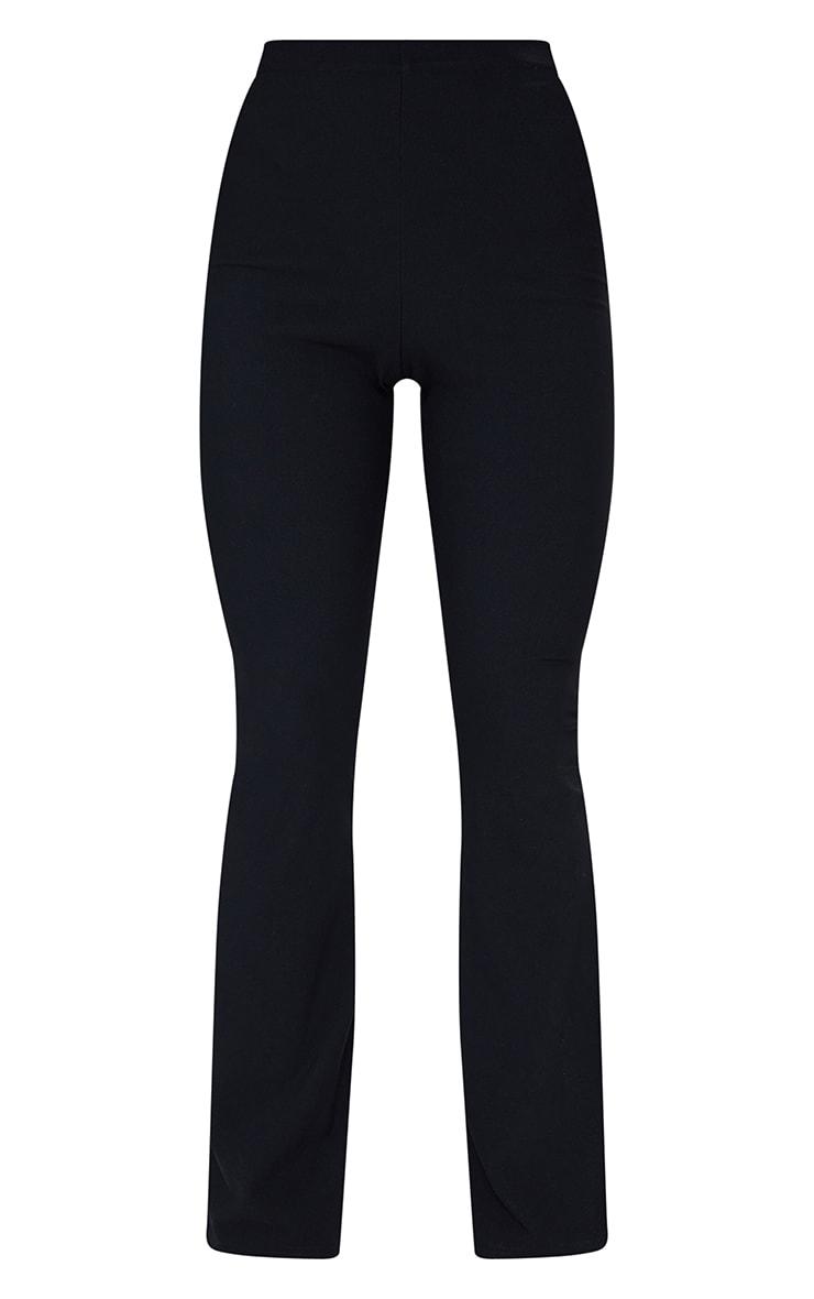 Black Bandage High Waist Flared Trousers 5
