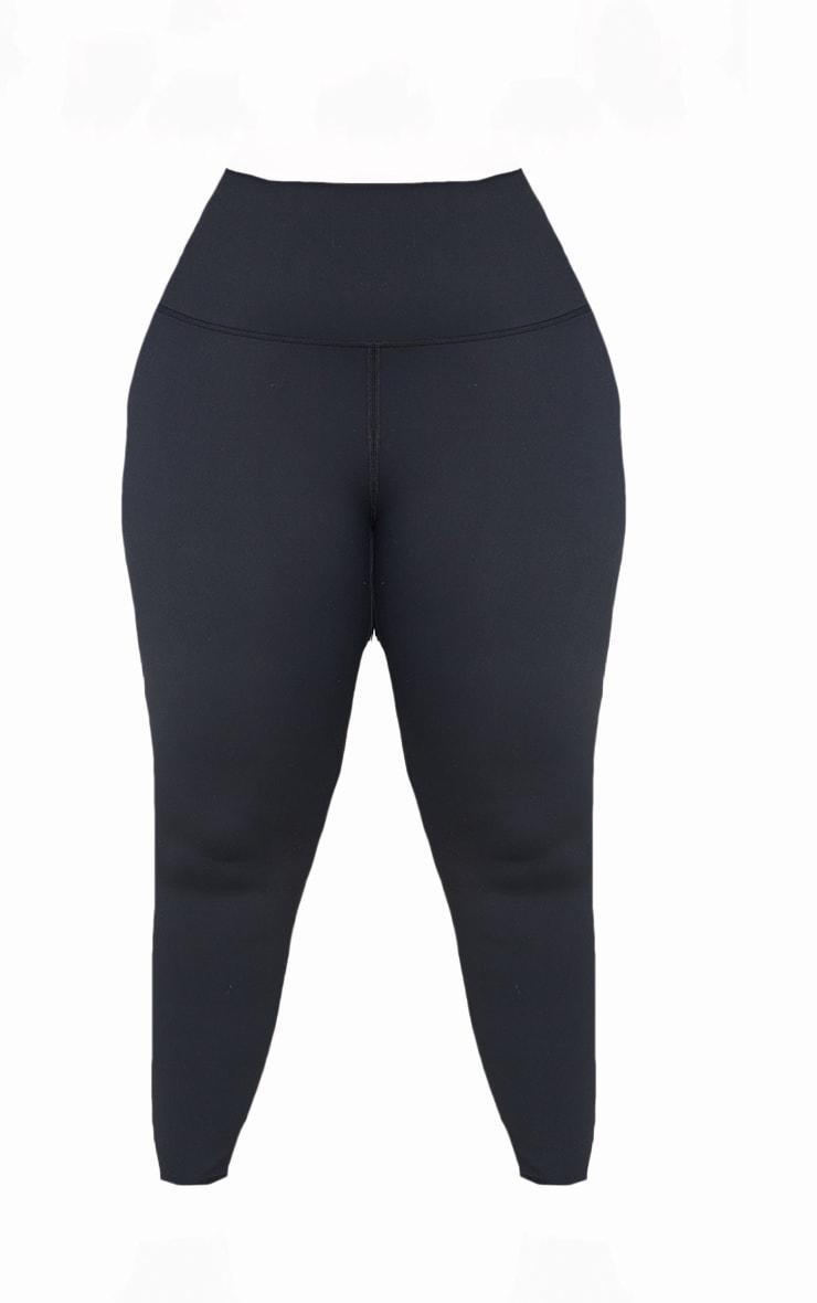 Plus Black Sculpt Luxe Super High Waist Gym Legging 5
