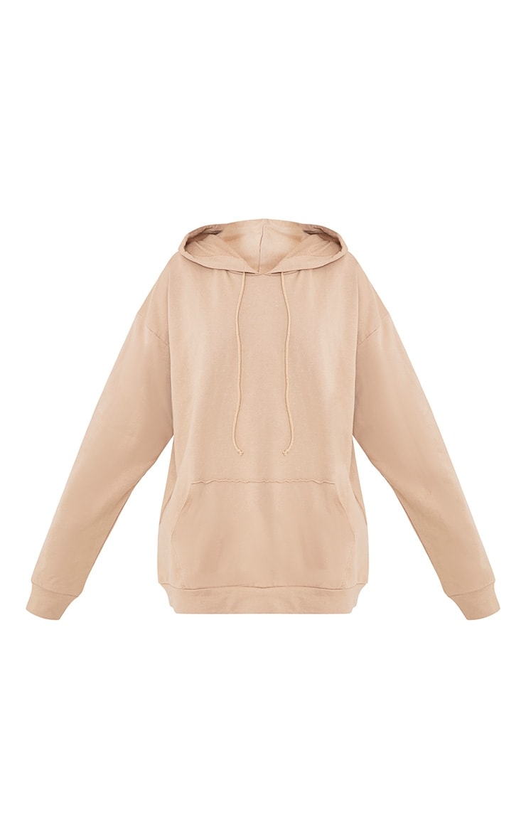 Steph Taupe Oversized Hoodie 3