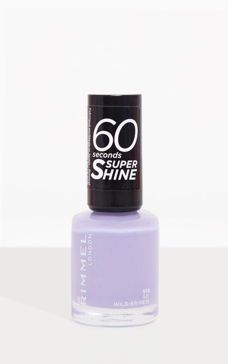 Rimmel 60 Seconds Rita Ora Super-Shine Nail Polish Go Wild-Er-Ness 3