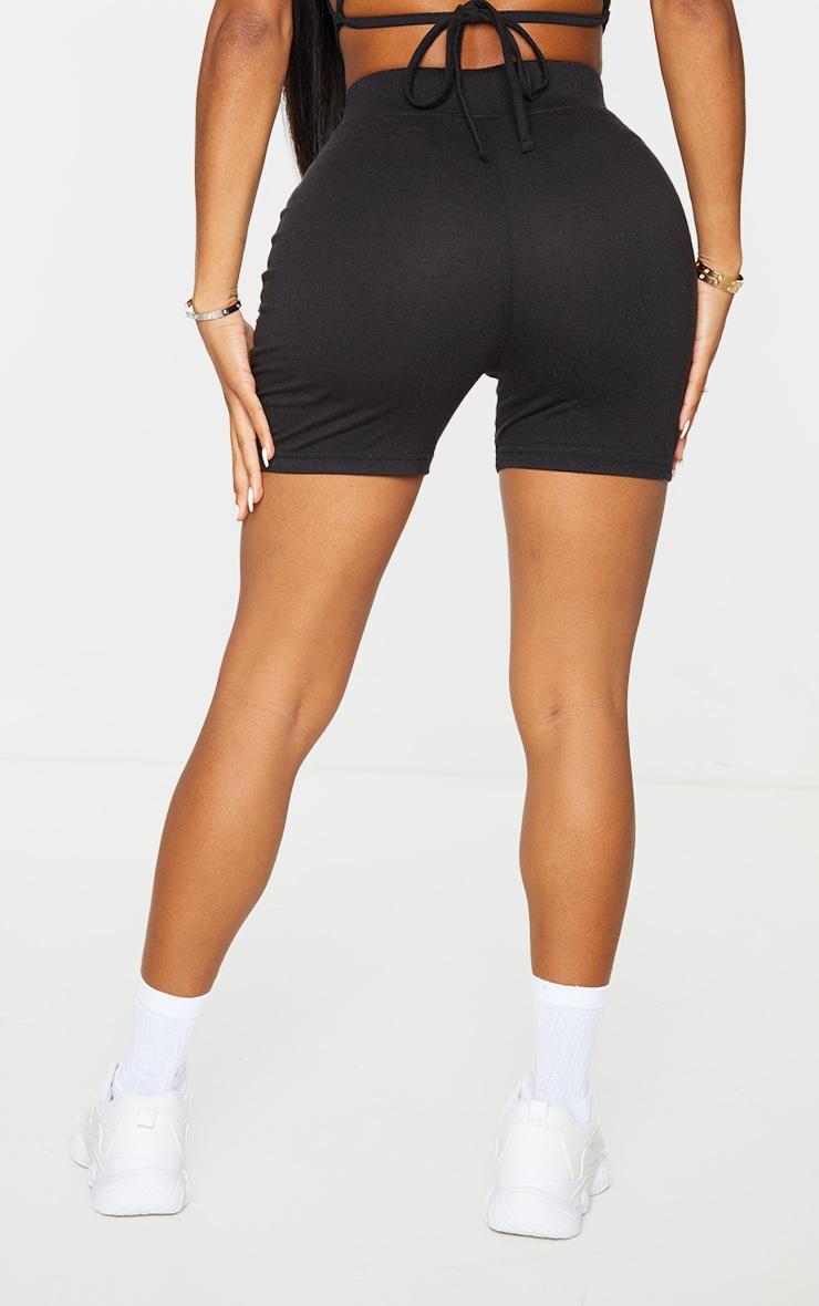 PRETTYLITTLETHING Shape Black High Waist Bike Shorts 3