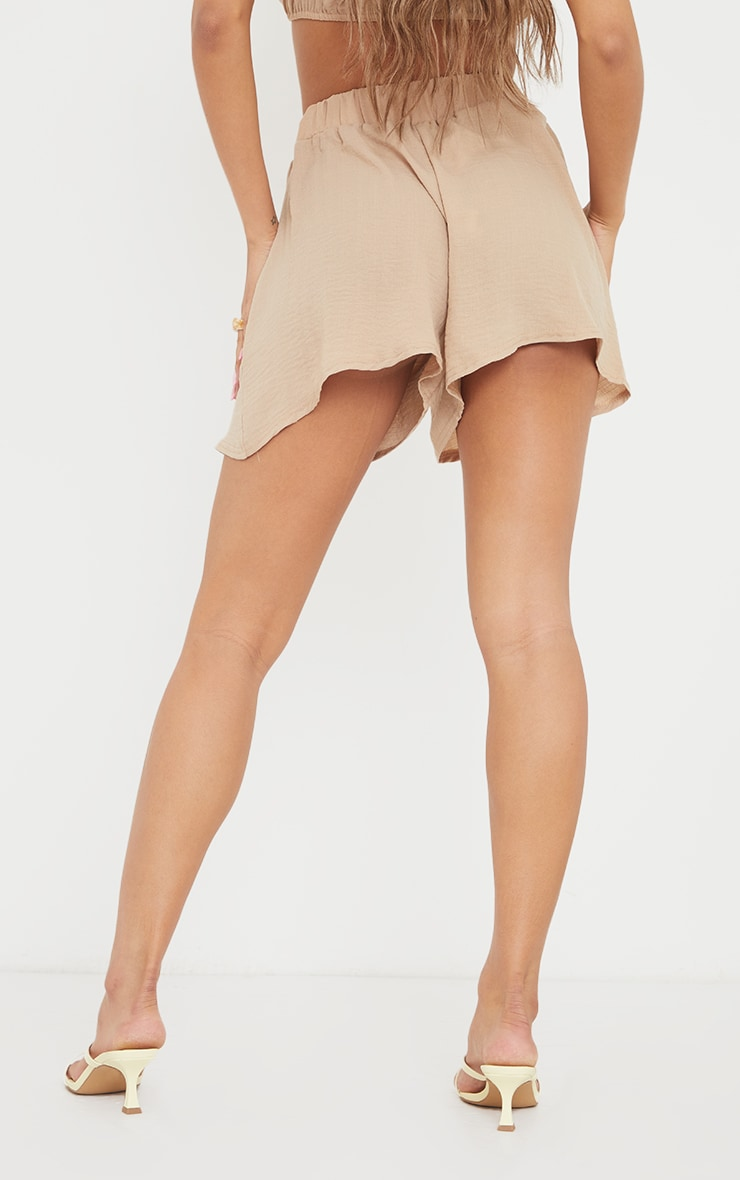 Stone Hammered Woven Floaty Shorts 3