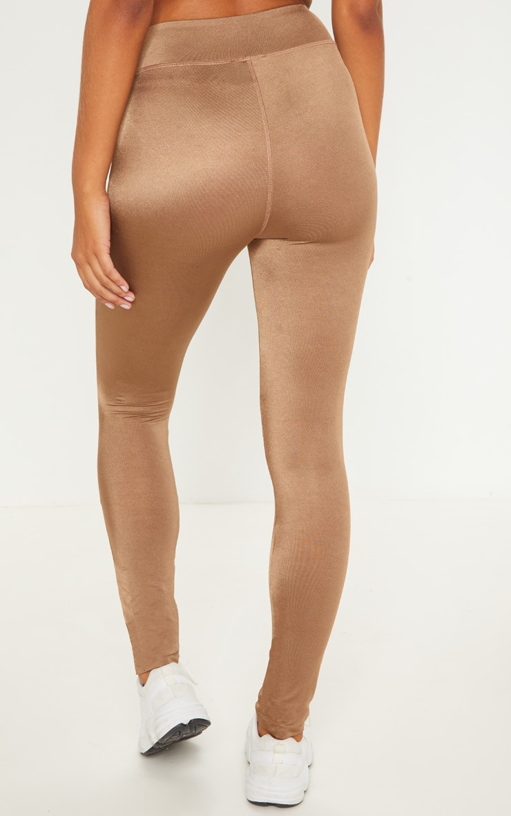 Mocha High Waisted Sports Legging 4