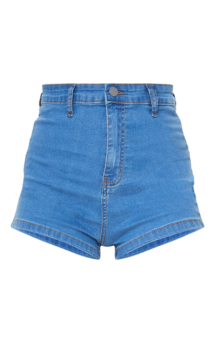 Mid Wash Disco Fit Short 6