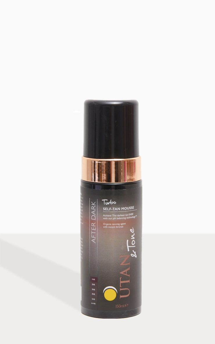 UTAN & Tone Turbo After-Dark Mousse