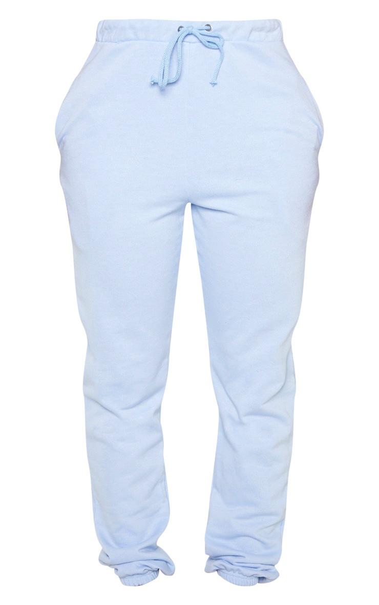 Shape Dusty Blue Skinny Drawstring Track Pants 3