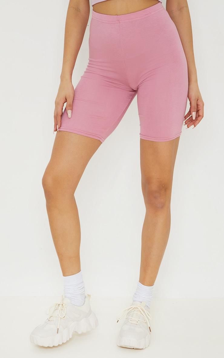 Dusty Rose Basic Cycle Shorts 2