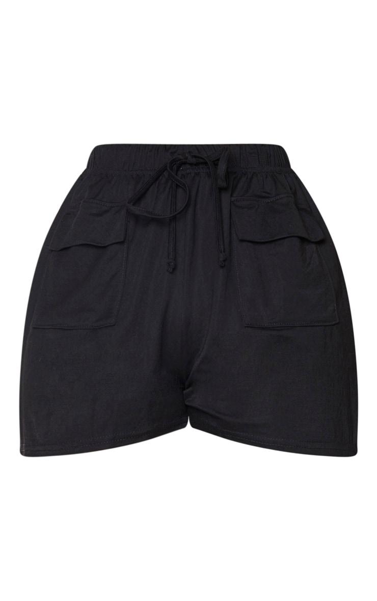 Petite Black Cargo Shorts 6