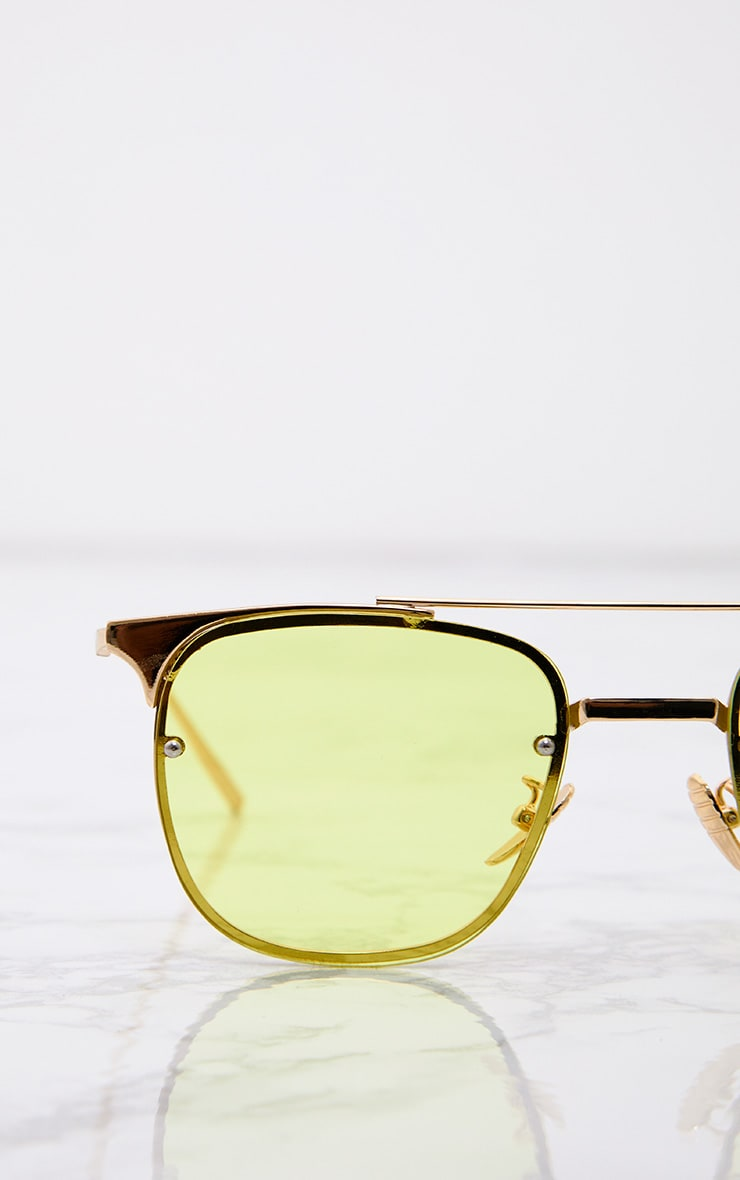 Torie Yellow Tinted Lens Glasses 5