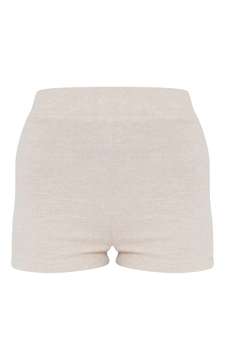 Beige Soft Touch Hot Pants 6