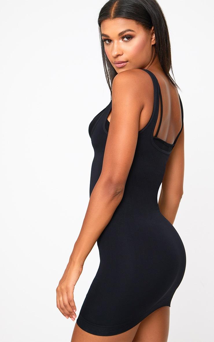Black Underbust Control Dress 2