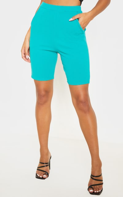 Teal Cycling Suit Shorts