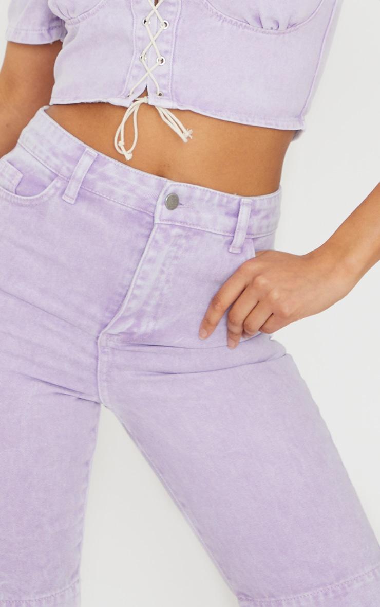 Lilac 5 Pocket Cycling Shorts 5