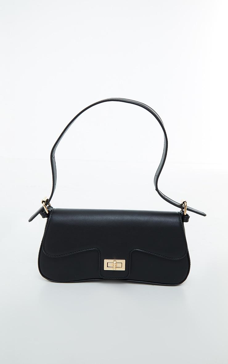 Black Envelope Shoulder Bag 2
