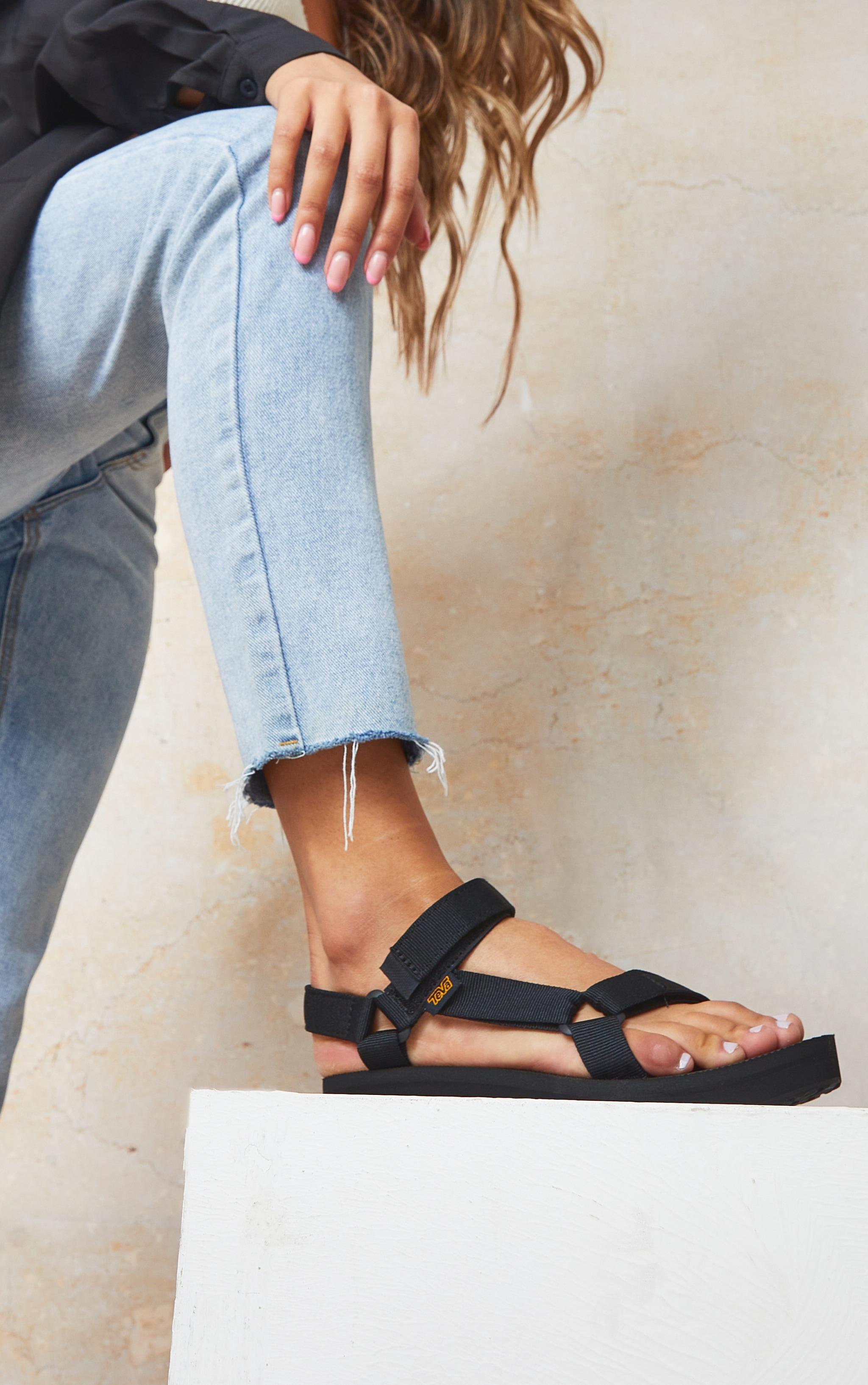 TEVA Black Midform Universal Sandals 2