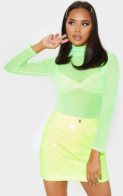 Neon Clothes Neon Dresses Neon Tops Prettylittlething