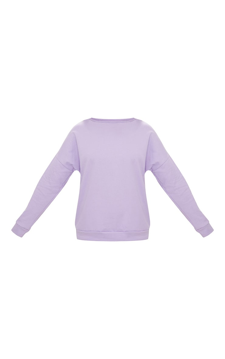 Lilac Oversized Sweater  3